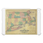 1860 map of the Shore Line Rail Road iPad Mini Covers