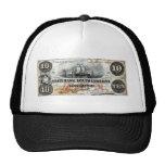 1860 South Carolina Ten Dollar Note Mesh Hat
