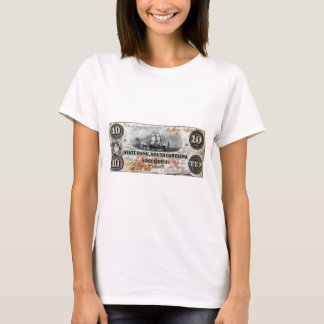 1860 South Carolina Ten Dollar Note T-Shirt