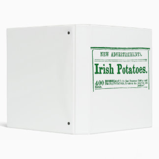 1860s Irish Potatoes Classified Ad Avery Binder