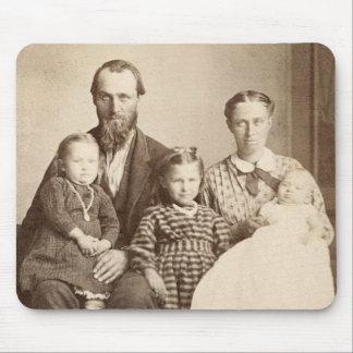 1860's pioneros de la foto del albumen CDV del Mouse Pads