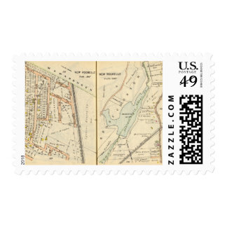 186187 New Rochelle Postage Stamps