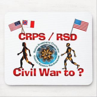¿1861 a? Banderas de la guerra de CRPS RSDCivil Tapete De Ratones