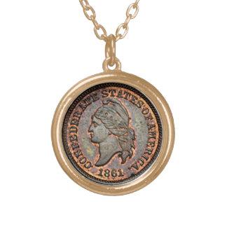 1861 Confederate Penny Pendants