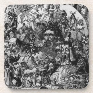 """1861: """"Qué vi en el fuego"""". Hadas Posavaso"""