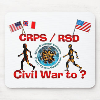1861 to ? CRPS RSDCivil War Flags Mouse Pad
