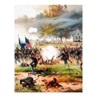 1862 Battle of Antietam Letterhead