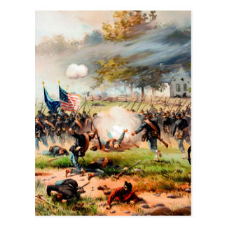 1862 Battle of Antietam Postcard