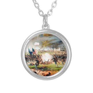 1862 Battle of Antietam Round Pendant Necklace