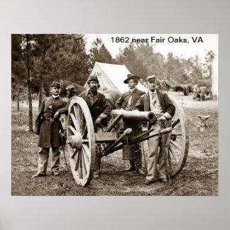 1862 near Fair Oaks, VA  Print