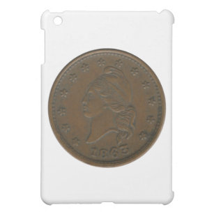 1863 Civil War Token iPad Mini Cover