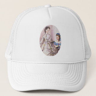 1863 Victorian Bride Trucker Hat