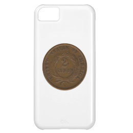 1864 2-Cent Piece Case For iPhone 5C