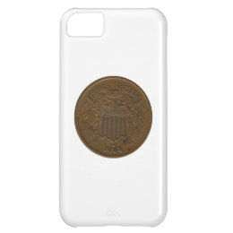 1864 2-Cent Piece Cover For iPhone 5C