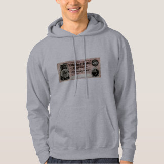 1864 Confederate Five Hundred Dollar Note Hoodie