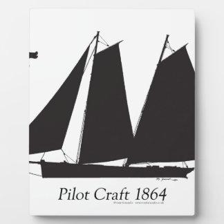 1864 Pilot Craft - tony fernandes Plaque