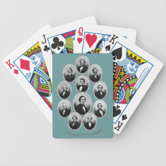 1865 caciques confederados baraja cartas de poker