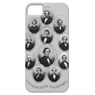 1865 caciques confederados funda para iPhone 5 barely there