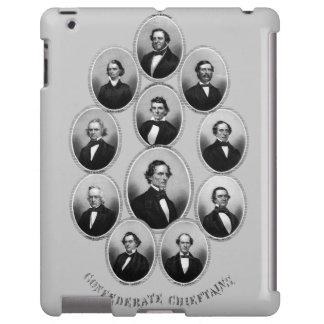 1865 caciques confederados funda para iPad