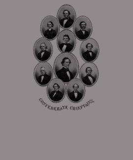 1865 caciques confederados t shirts
