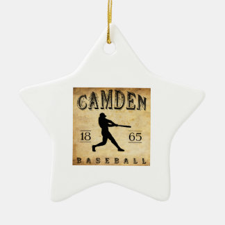 1865 Camden New Jersey Baseball Ceramic Ornament