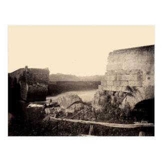 1865 Ruins of Italian Bridge Postcard