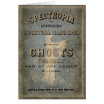 """1866 Book of Ghosts - """"Spectropia"""" Card"""