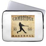 1866 Cambridge Massachusetts Baseball Laptop Sleeves