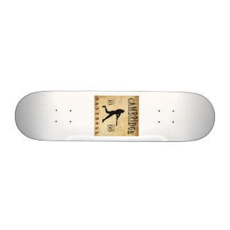 1866 Cambridge Massachusetts Baseball Skateboard Deck