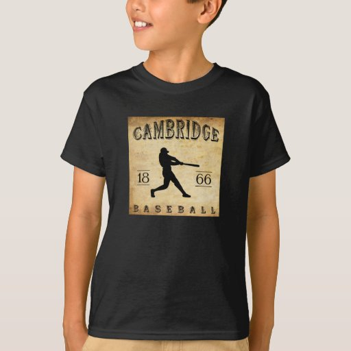 1866 Cambridge Massachusetts Baseball T-Shirt