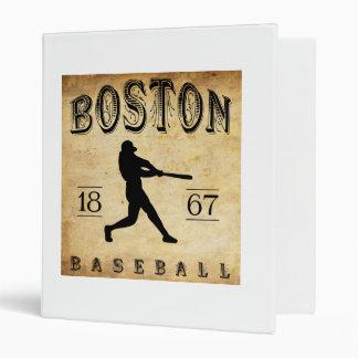 1867 Boston Massachusetts Baseball Binder
