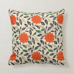 1867 Chinese floral pattern Throw Pillow