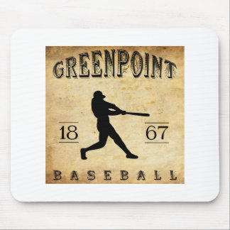 1867 Greenpoint New York Baseball Mouse Pad