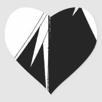 1867 solent cutter - tony fernandes heart sticker