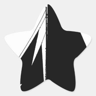 1867 solent cutter - tony fernandes star sticker