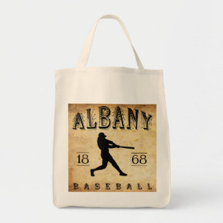 1868 Albany New York Baseball Tote Bag