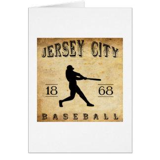 1868 Jersey City New Jersey Baseball Card