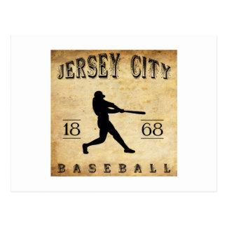1868 Jersey City New Jersey Baseball Postcard