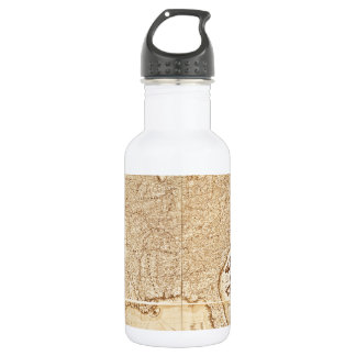 1868 United States Map 18oz Water Bottle