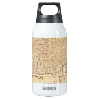 1868 United States Map 10 Oz Insulated SIGG Thermos Water Bottle