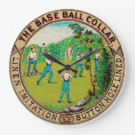 1868 Vintage Baseball Collar Logo Clocks