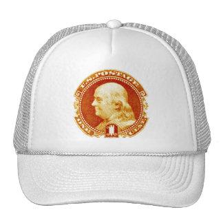 1869 Benjamin Franklin Stamp Trucker Hat