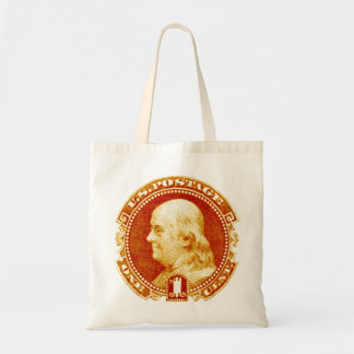 1869 Benjamin Franklin Tote Bag