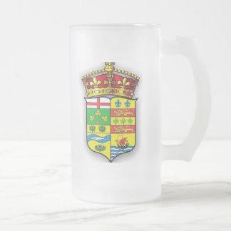 1869 CANADIAN COAT OF ARMS COFFEE MUG