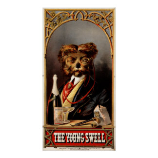 1869 - The Young Swell Poster