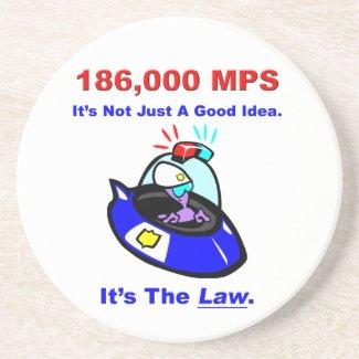 186,000 MPS Coaster coaster