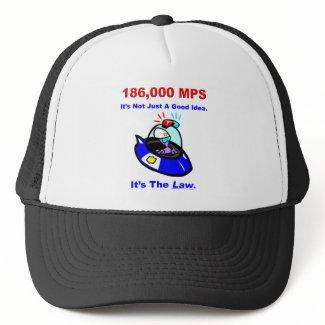 186,000 MPS Hat hat