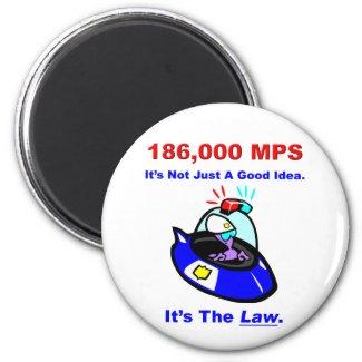 186,000 MPS Magnet magnet