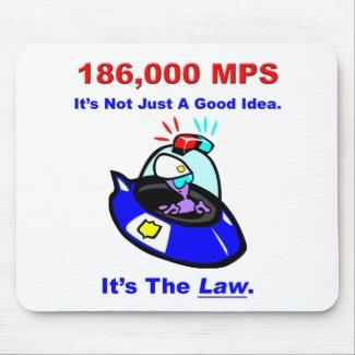 186,000 MPS Mousepad mousepad