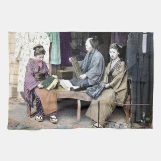 1870 Fabric Dealer of Japan Hand Towels